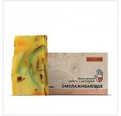 Пептидное мыло ручной работы «Омолаживающее» SPA LINE